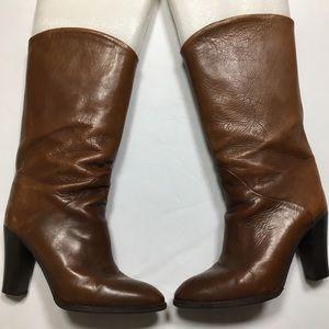 Bontique Marco VINTAGE brown mid calf boots 8.5M